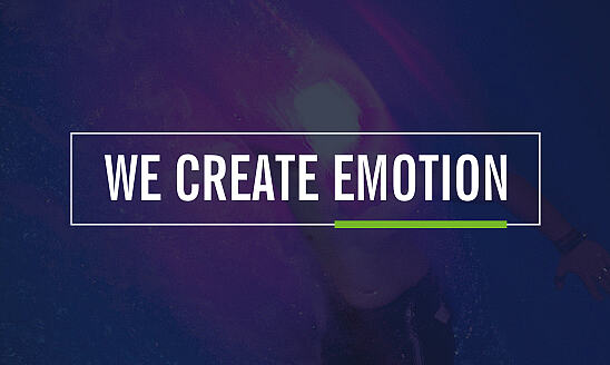 We create emotion