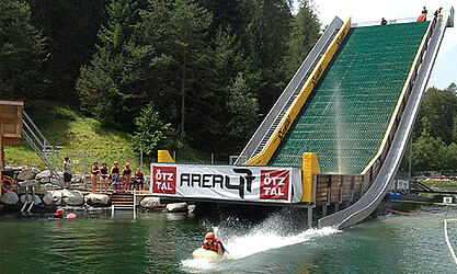 Bobsleigh slide